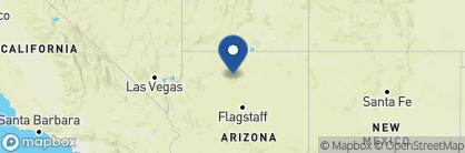 Map of Grand Canyon Lodge, North Rim, USA