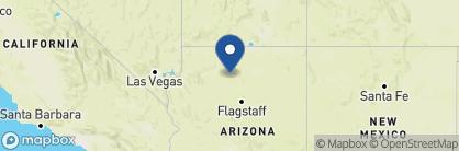 Map of El Tovar Hotel, USA
