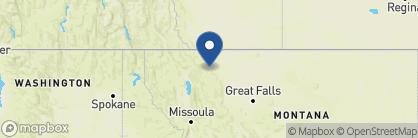 Map of Glacier Park Lodge, USA