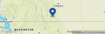Map of Twisted Timber, Canada