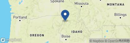 Map of Best Western Plus Salmon Rapids Lodge, US