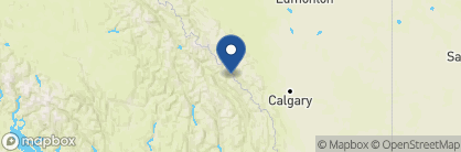 Map of Cathedral Mountain Lodge, Canada