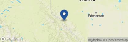 Map of Alpine Village Cabin Resort, Canada