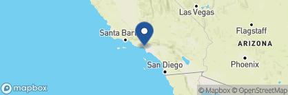 Map of The Georgian Hotel, California