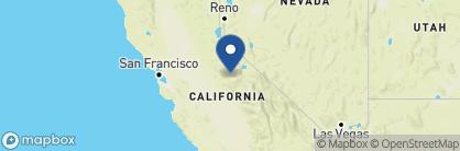 Map of Majestic Yosemite Hotel, California