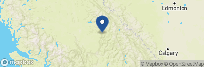 Map of Wolfwood Guest Ranch, Canada
