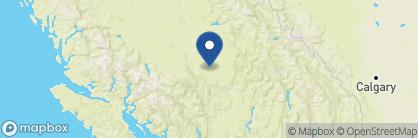 Map of Siwash Lake Wilderness Resort, Canada