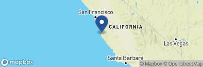 Map of Hyatt Regency Monterey, California