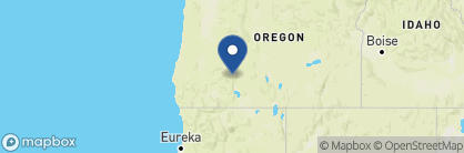 Map of Crater Lake Lodge, USA