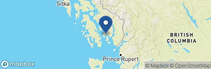 Map of Cape Fox Lodge, Alaska