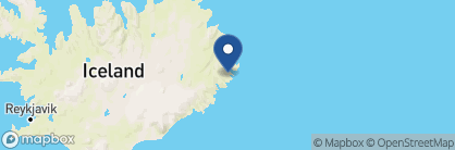 Map of Fosshotel Eastfjords, Iceland
