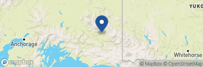Map of Kennicott Glacier Lodge, Alaska
