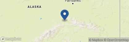 Map of Denali Bluffs Hotel, Alaska