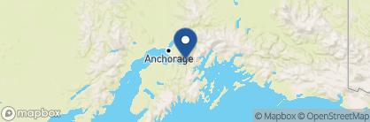 Map of The Hotel Alyeska at Alyeska Resort, Alaska