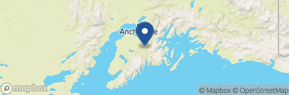 Map of Tern Lake Inn, Alaska