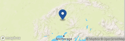 Map of Susitna River Lodging, Alaska