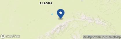 Map of Kantishna Roadhouse, Alaska
