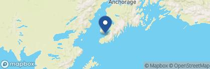 Map of Land's End Resort, Alaska