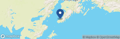 Map of Tutka Bay Lodge, Alaska