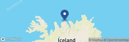Map of Sigló Hótel, Iceland