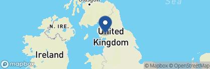 Map of Gilpin Hotel & Lake House, England