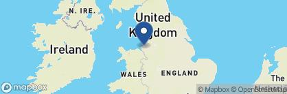 Map of 2 Blackburne Terrace, England
