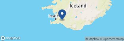 Map of Hótel Grímsborgir, Iceland