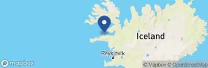 Map of Hótel Egilsen, Iceland