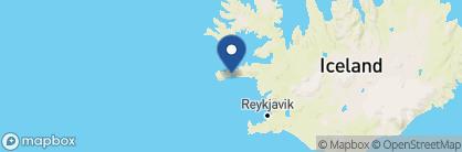 Map of Hotel Buðir, Iceland