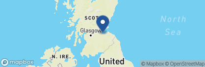 Map of The Royal Scots Club, Scotland