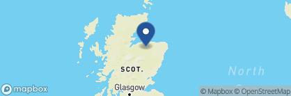 Map of Dowans Hotel, Scotland