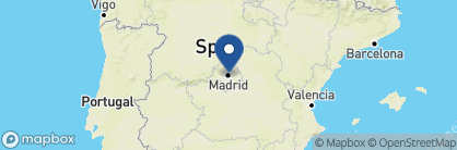 Map of URSO Hotel and Spa, Spain