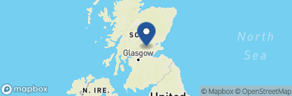 Map of Gleneagles, Scotland