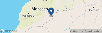 Map of Gold Sand Camp, Morocco