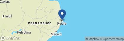 Map of Pousada Quatro Cantos, Brazil