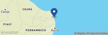 Map of Toca da Coruja, Brazil