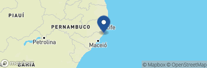 Map of Pousada Praiagogi, Brazil