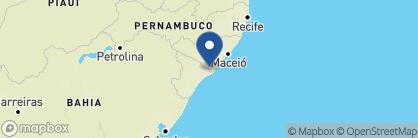 Map of Hotel Sao Francisco, Brazil