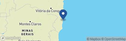 Map of Villas de Trancoso, Brazil