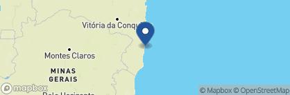 Map of Estrela d'Agua, Brazil