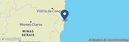 Map of Uxua Casa, Brazil