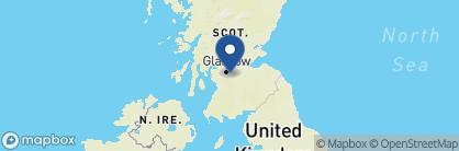 Map of Crossbasket Castle, Scotland
