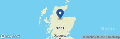 Map of Glenmoriston Town House Hotel, Scotland