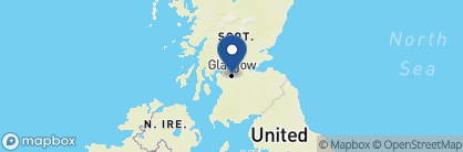 Map of Dakota Deluxe, Scotland
