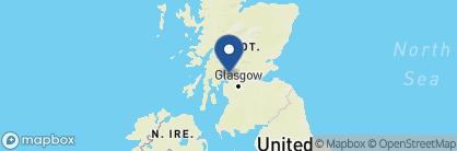 Map of Loch Lomond Arms, Scotland