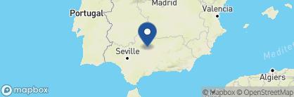 Map of Las Casas de la Judería de Córdoba, Spain
