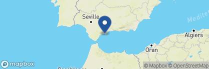 Map of Vincci Estrella del Mar, Spain