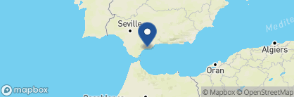 Map of Marbella Club, Spain