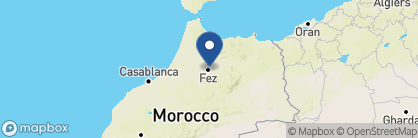 Map of Riad Fes, Morocco