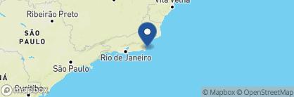 Map of Casas Brancas Boutique Hotel & Spa, Brazil